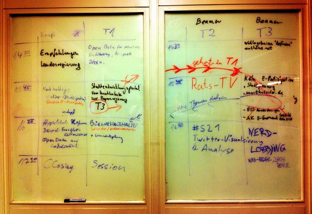 Barcamptools - die Webanwendung mit Python und MongoDB