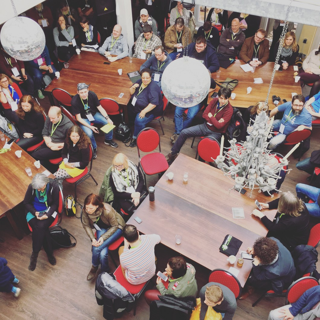 Einführungs-Session beim Barcamp Ruhr