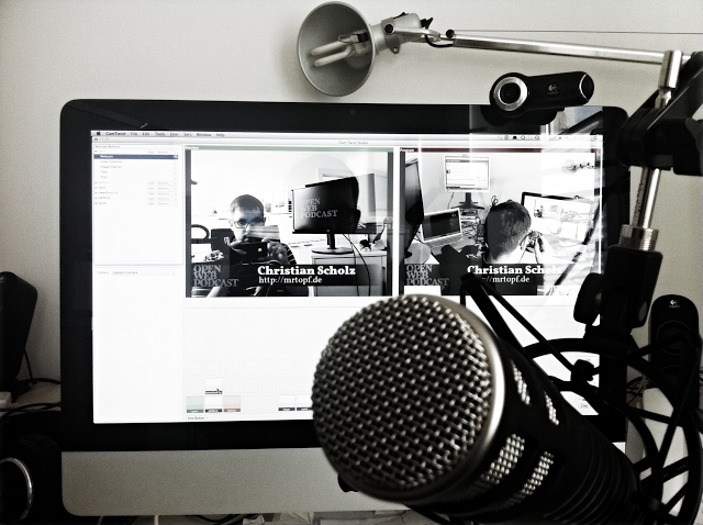 Livestreaming des OpenWebPodcasts