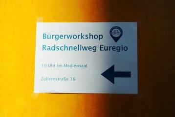 Bürgerworkshop zum Radschnellweg Euregio