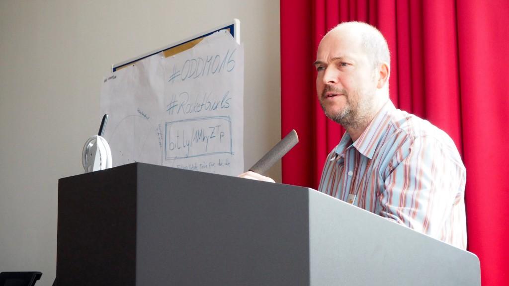 Der Chef des Open Data Hackday Niederrhein