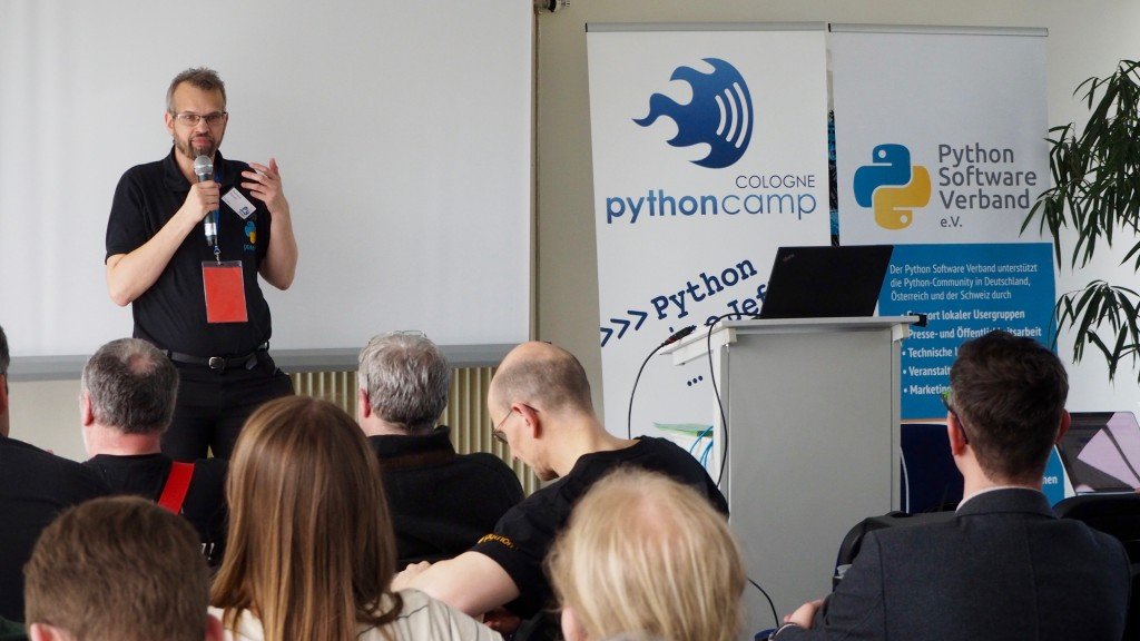 Die Lightning Talks des PythonCamp 2016