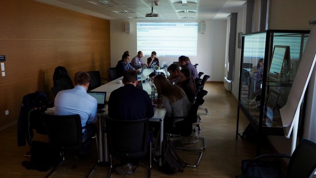 Full House beim Open Data Hackday Niederrhein