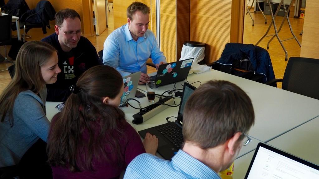 Open Data Hackday Niederrhein: Datenwaben für Moers