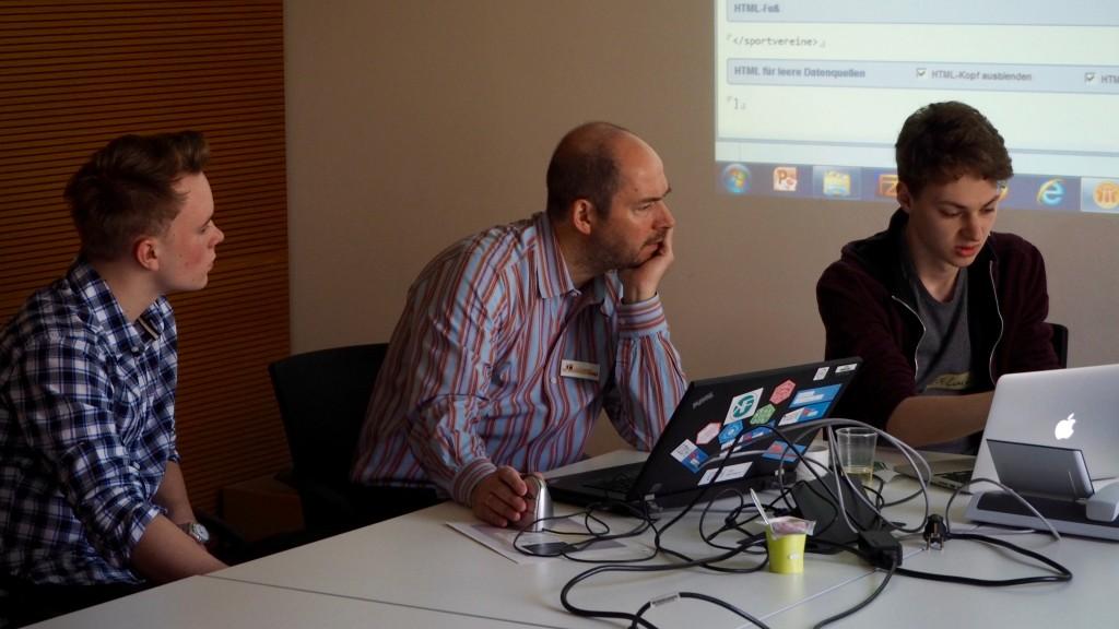 Open Data Hackday Niederrhein - Eine Datenquelle wird gebaut