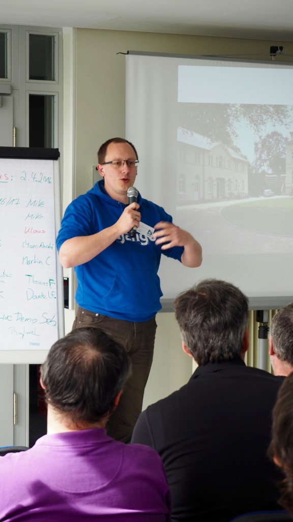Sessionplanung beim PythonCamp 2016 in Köln