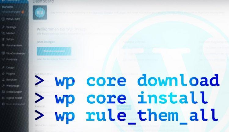 WP-CLI: Der große Leitfaden zur WordPress-Kommandozeile