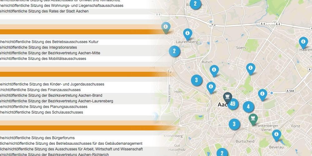 Eine ALLRIS-Schnittstelle für Aachen